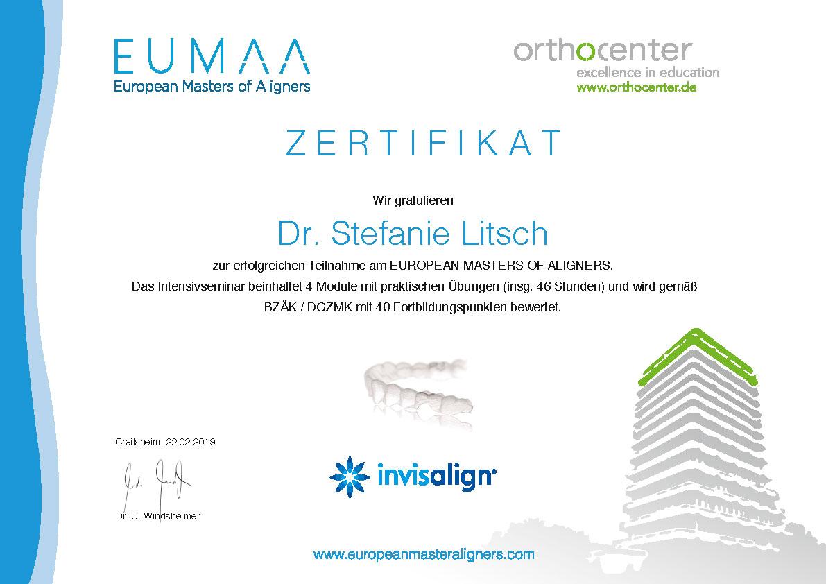 Team - Practice for Orthodontics in Oberursel, Stefanie